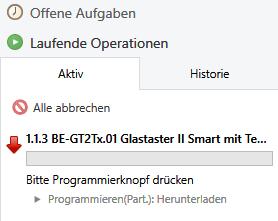 Status Programmierung