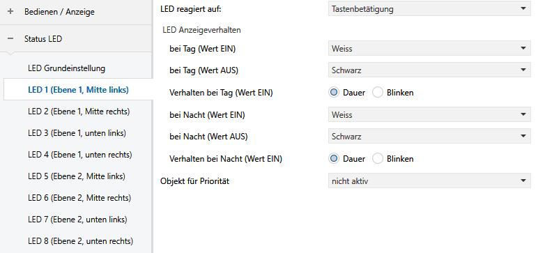 ETS Status LED