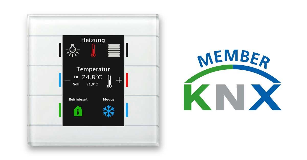 KNX MDT Glastaster programmieren