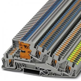 PHOENIX 3214047 PTI 4-PE/L/NT Dreistock Installationsklemme PE/L/NT