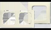 BUSCH-JAEGER Duro 2000 Rahmen Linear