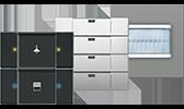 BUSCH-JAEGER Busch-Installationsbus® KNX UP-Sensoren