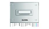 Elcom Klingelplatten Aluminium