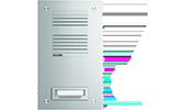 Elcom i2Audio/6Draht-Videotechnik ELCOM.STABILA Türstationen