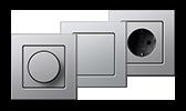 GIRA E22 aus Aluminium