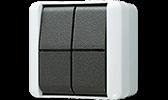 JUNG WG 800 Schalter Taster