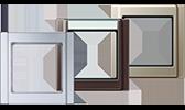 JUNG Serie A Rahmen A 500