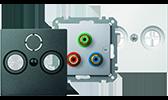 MERTEN System M / Einsätze TV / Audio