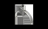 Blitzschutz Fangeinrichtungs- und Ableitungs-Systeme Dachleitungshalter