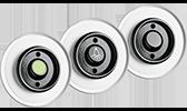 THPG Bakelitschalter mit Glasabdeckung Wipptaster