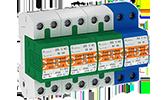 Überspannungsschutz OBO Bettermann Energietechnik, Ableiter Typ 1