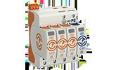 Überspannungsschutz OBO Bettermann Energietechnik, Ableiter Typ 2