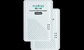 Telefon-Datentechnik Datentechnik Ethernet Adapter + Tischverteiler