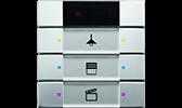 KNX / EIB UP-Sensoren pur edelstahl
