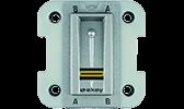 Zutrittssysteme home / multi Unterputz Fingerscanner