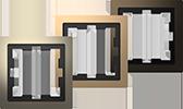 MERTEN System Design D-Life Metall