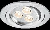 LED System Strahler/Leuchten Deckeneinbaustrahler