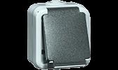 PEHA Wassergeschütztes Aufputzprogramm IP54 SCHUKO-Steckdosen
