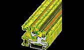 Verteilereinbau Reihenklemmen PE-Schutzleiterklemmen
