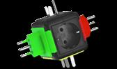 Steckvorrichtungen Steckeradapter
