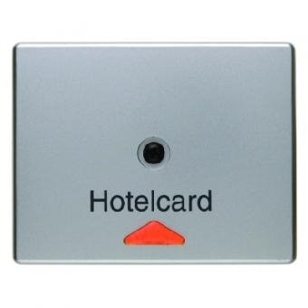 berker 16419004 hotelcard schalteraufsat z mit aufdruck. Black Bedroom Furniture Sets. Home Design Ideas