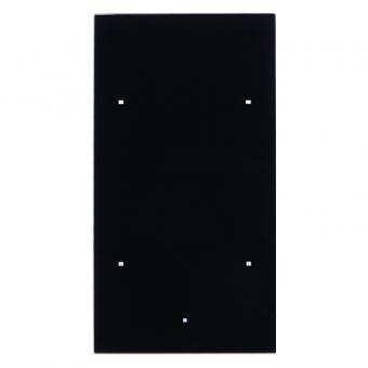 berker 168205 glas sensor 2fach ts sensor glas schwarz online kaufen im voltus elektro shop. Black Bedroom Furniture Sets. Home Design Ideas
