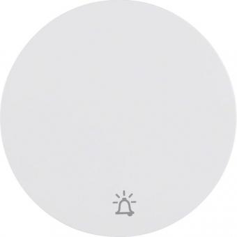 berker 16202069 wippe mit symbol klingel polarwei gl nzend online kaufen im voltus elektro shop. Black Bedroom Furniture Sets. Home Design Ideas