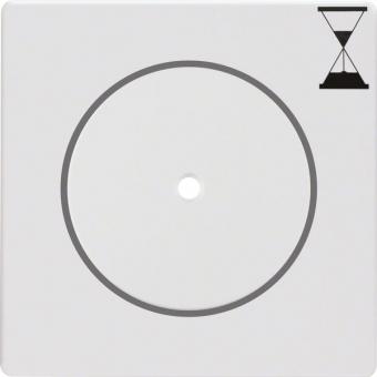 BERKER 16746089 Zeit-Relais-Schalteinsatz Abdeckung Polarweiß samt