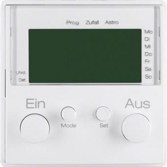 BERKER 17386086 Zeitschaltuhr mit Display+Sensoranschluß