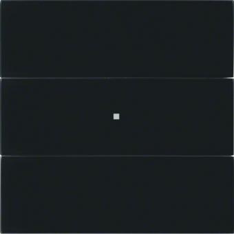 berker 75163592 b iq tastsensor 3fach komfort glas schwarz online kaufen im voltus elektro shop. Black Bedroom Furniture Sets. Home Design Ideas