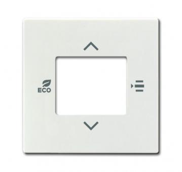 busch jaeger 6109 03 82 abdeckung f r raumtemperaturregler elfenbeinwei online kaufen im voltus. Black Bedroom Furniture Sets. Home Design Ideas