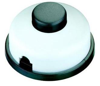 Tret-Zwischenschalter Serie 8009, Serien schalter, 1-polig. Schaltung: 0-1-1+2-2- schwarz/schwarz