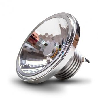 CONSTALED 30934 LED Spot AR111 9W 24V DC 2850K 24° CRI>80