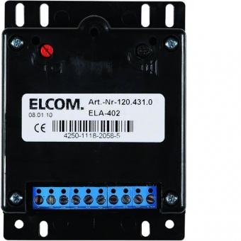 ELCOM 1204310 Türlautsprecher mit Rufgenerator EB 1+n ELA-402