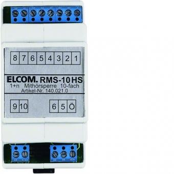 ELCOM 1400210 Mithörsperre  REG 1+n lichtgrau RMS-10HS 10 Teilnehmer
