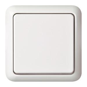 ELSO 231604 Fashion IP44  Universalschalter mit Schraubklemme Reinweiß