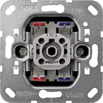Gira 011200 Wipp Kontrollschalter Einsatz Ausschalter 2polig