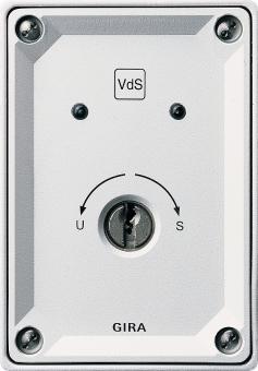 GIRA 013400 Schlüsselschalter/VdS Aufputz