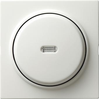 GIRA 013640 Tast-Kontrollschalter Universal-Aus-Wechselschalter Reinweiß