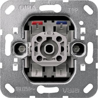 Gira 015000 Wipptaster Einsatz Schließer 1polig mit N Klemme