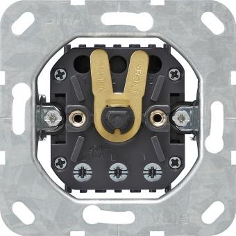 GIRA 015400 Einsatz Jalousietaster bzw. -schalter 10 AX 250 V~ 1-polig