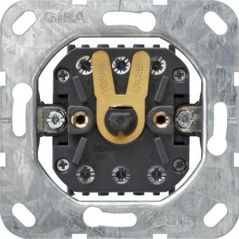 GIRA 015700 Einsatz Jalousietaster bzw. -schalter 10 AX 250 V~ 2-polig