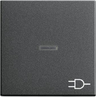 gira 020928 kontrollwippe mit symbol steckdose anthrazit online kaufen im voltus elektro shop. Black Bedroom Furniture Sets. Home Design Ideas