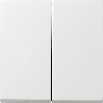 GIRA 026627 Serienwippe komplett mit Dichtungsset Reinweiß seidenmatt