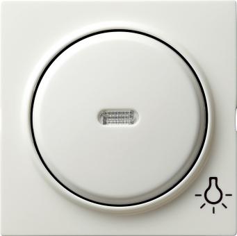 GIRA 028540 Kontrollwippe mit Symbol -Licht- Reinweiß