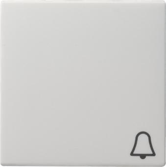 GIRA 028603 Wippe mit Symbol -Klingel- Reinweiß glänzend