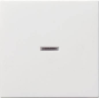 GIRA 029003 Wippe mit Kontrollfenster Reinweiß glänzend