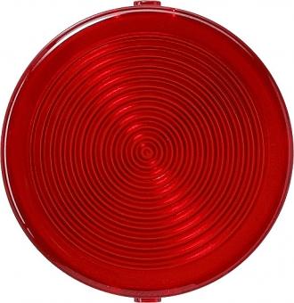 Gira 080320  Flache Abdeckhaube für Lichtsignal Rot