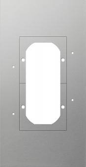 GIRA 129700 Montageplatte 2fach