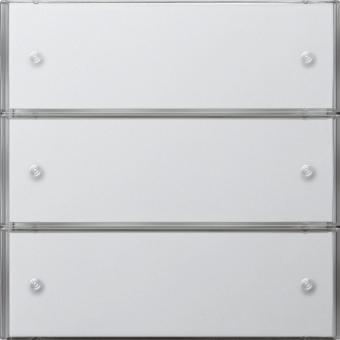 gira 2033112 knx tastsensor 3 komfort 3fach reinwei. Black Bedroom Furniture Sets. Home Design Ideas